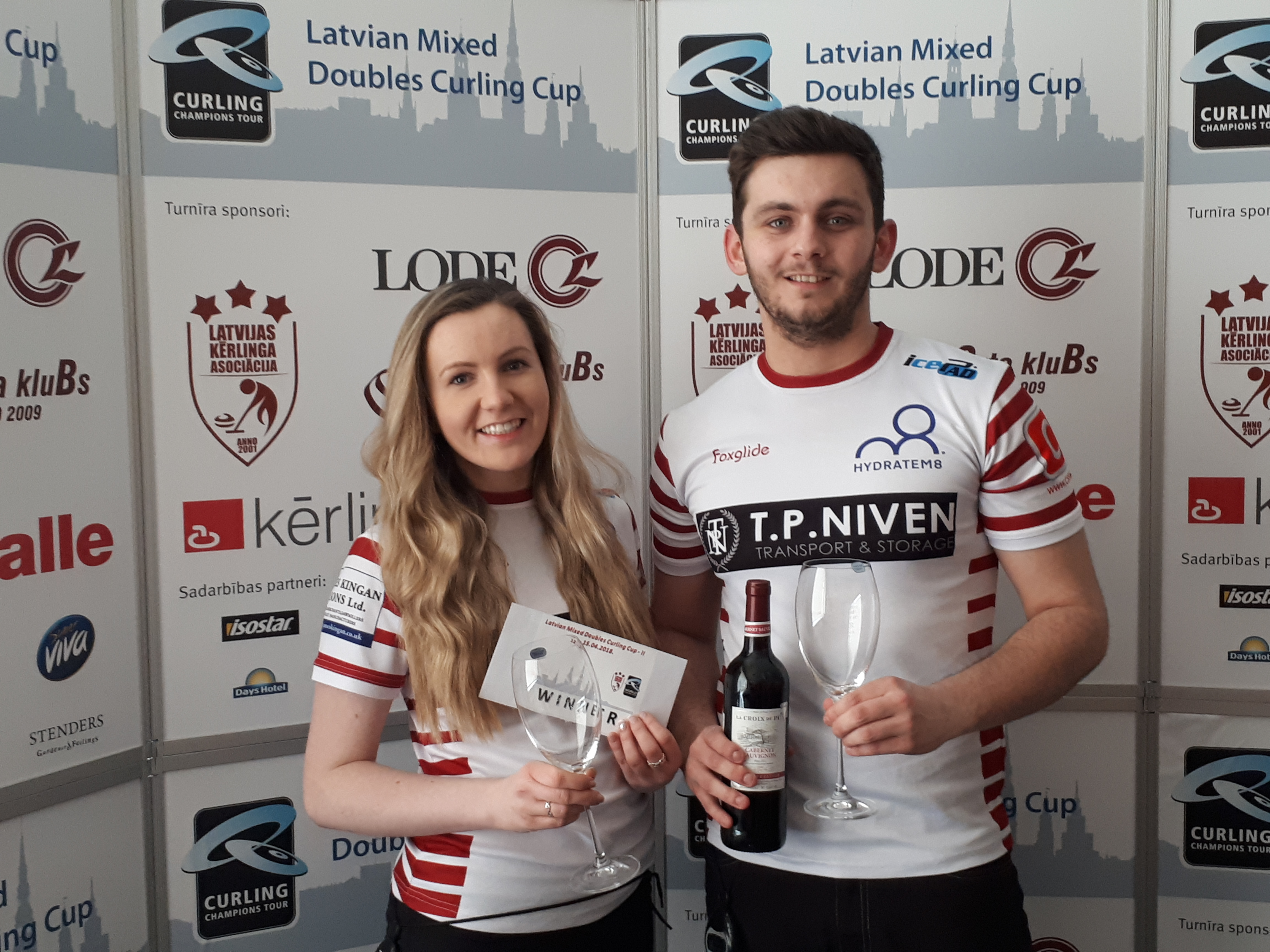 J Stirling and F Kingan wins WCT Latvian Mixed Doubles